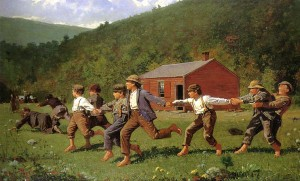 """""""Snap the Whip"""" by Winslow Homer, 1872"""