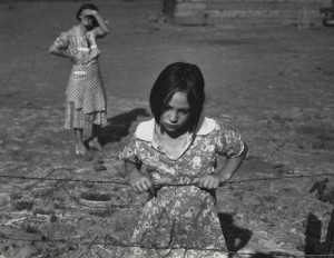 """Child and Her Mother"" photograph by Dorothea Lange, 1939"